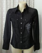 Рубашка женская джинсовая жакет натуральный хлопок бренд Bonita р.42-44 5993