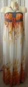 Платье женское легкое летнее сарафан макси бренд Adeline р.44 6025