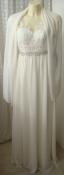 Платье женское великолепное шикарное свадебное вечернее бренд Unique р.40-42 6028