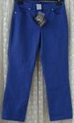 Джинсы укороченные женские капри джинсовые хлопок стрейч бренд Damart р.46 6047