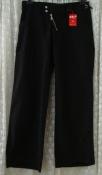 Брюки женские штаны модные современные черные хлопок бренд Asia Jeans р.46-48 6054