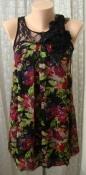 Туника женская легкая летняя нарядная яркая модная бренд AX Paris р.42 6077