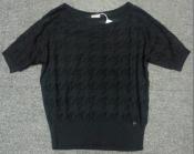 Кофта - блузон John Galliano( оригинал ) из мягкого  трикотажа, новая, цвет - насыщенный черный.