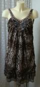 Туника женская легкая летняя красивая декор вышивка р.50 6119