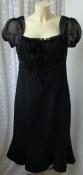 Платье женское черное стильное элегантное миди бренд Ashley Brooke р.46-48 6133
