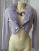 Кофта женская модная болеро бренд Orsay р.48 №6158