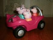 машинки свинки Пеппы