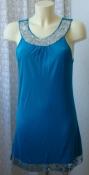 Платье женское легкое летнее вискоза пайетки Papaya р.46 6190