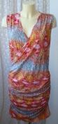Платье женское летнее яркое стильное модное вискоза стрейч бренд En Joy р.46-48 6229