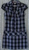 Платье женское модное хлопок мини бренд Tally Weijl р.40 6307
