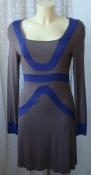 Платье женское летнее стильное модное вискоза стрейч мини бренд Tanais р.44 6327