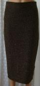 Юбка женская нарядная с люрексом стрейч Papaya р.46 6328