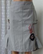 Юбка женская модная хлопок миди бренд L33 р.44 6331