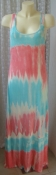 Платье летнее вискоза стрейч макси Papaya р.46 6341
