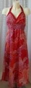 Платье женское летнее легкое яркое сарафан макси бренд Zeeman р.46 6349