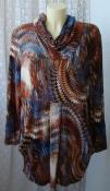 Туника женская теплая модная демисезонная бренд Elena Eden р.54 6360