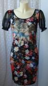 Платье женское летнее яркое модное легкое мини бренд Lilia р.40-42 6364