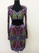 Красивое шелковое платье Matthew Williamson (оригинал ), британский модельер,