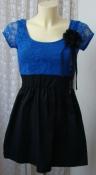 Туника платье женская летняя кружево Glamour Babe р.42-44 6378