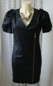 Платье женское элегантное нарядное черное мини бренд р.42 6442