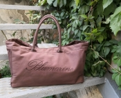 Сумка Blumarine Beachwear ( оригинал ), cotton, цвет - светло / коричневый.