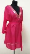 Шелковое платье / туника René Lezard, новое с ценником, цвет - фуксия.