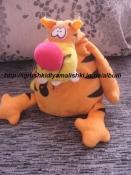 прикольная мягкая игрушка тигренок -бомбочка fancy