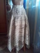 Красивая юбка клиньями