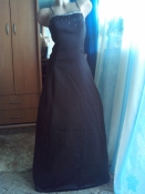 Королевское роскошное платье в пол со шлейфом