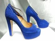 Туфли  из кожи питона Kurt Geiger ( UK  ), новые.