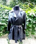 Женская кожаная куртка Icetract, кожа очень мягкая, яркая подкладка.