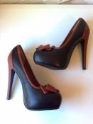 роскошные туфли а-ля Лабутен 39-39,5р. 25-25,5 см.