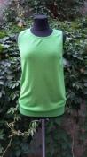 Кашемировая кофточка без рукавов  Marc Jacobs ( оригинал ), цвет - фисташковый.