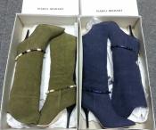 Летние сапоги ISABEL MARANT ( оригинал ), текстиль, ( лен ), новые.