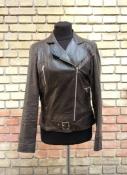 Кожаная куртка - косуха с эффектом потертости  Marc Aurel ( оригинал ), состояние новой.