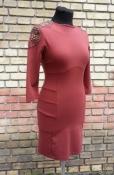 Платье Patrizia Pepe ( оригинал ), терракотового цвета, состояние нового.