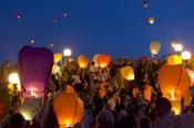 Повітряні ліхтарики, літаючі ліхтарі, китайські небесні ліхтарі, небесные фонарики желаний