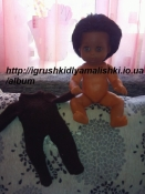 очень красивая афро куколка винтаж.