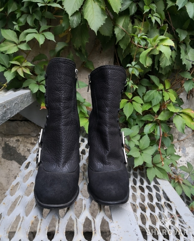 Ботильоны   ботинки Christian Dior, оригинал, кожа нубук, цвет-черный. 8885c10f749