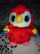 нереальной красоты игрушка попугайчик -глазастик yoohoo оригинал, музыкальная
