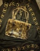 меховая сумочка 20 * 30 см новая