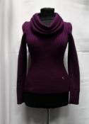 Шерстяной свитер Gucci, оригинал, цвет - бордовый.