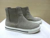 Ботинки Marc Cain, оригинал, нубук, цвет - серый.