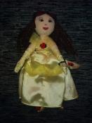очень красивая мягкая куколка -принцесса Белль от  marks&spenser