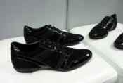 Кроссовки, спортивные туфли Zilli, оригинал, комбинированные: кожа / замша, цвет - черный.