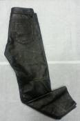Женские кожаные брюки с тиснением Elin Kling for Marciano, цвет- черный.