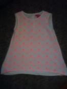 очень красивая нарядная блузка young dimension на 6-7 лет