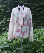 Шелковая блуза Ungaro, оригинал, цветочный принт.