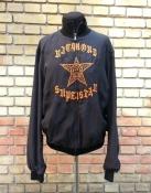 Шелковая мужская куртка Richmond Denim, оригинал, черная с вышивкой.