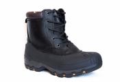 Kamik Hawksbay зимние мужские ботинки кожаные черные US8+9